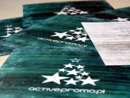 kartki świąteczne activepromo uszlachetnienia druku